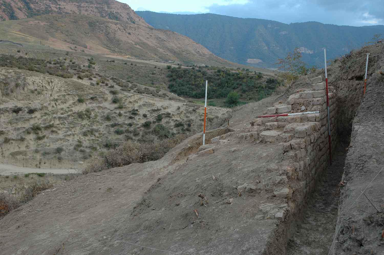 کارگاه کاوش گرگر روستای قره یسر شهرستان کلاله