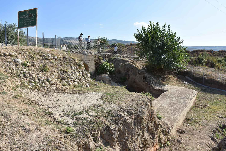 کارگاه کاوش یساقلق روستای یساقلق بالا شهرستان کلاله